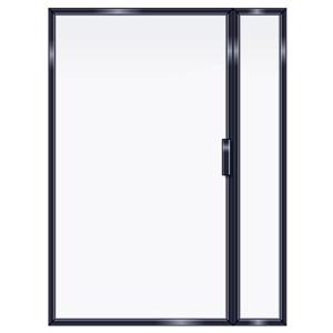 FRAMED INLINE DOOR