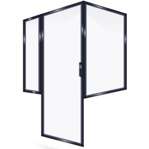 FRAMED SHOWER DOOR PRPR