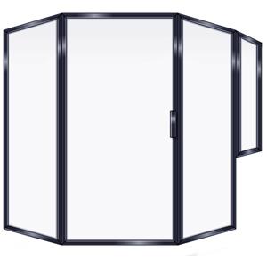 FRAMED SHOWER DOOR NEO ANGLE PR
