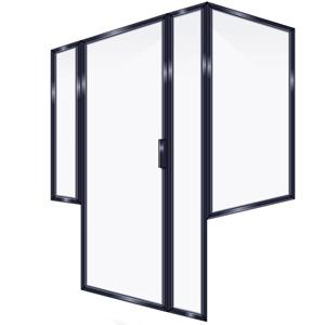 FRAMED INLINE DOOR PRRP