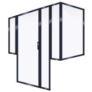 FRAMED INLINE DOOR 2PRRP