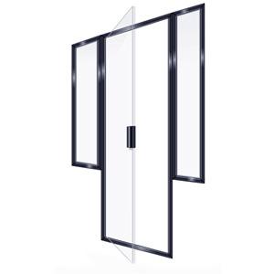 SEMIFRAMELESS DOOR 2PR