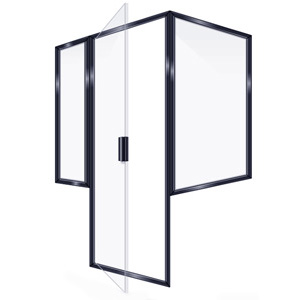 SEMIFRAMELESS DOOR 2PRRP