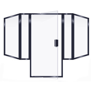SEMIFRAMELESS DOOR 4PRRP